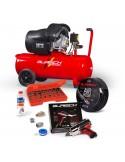 FULL Burisch 680nm Impact wrench & 50L air compressor kit