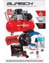 PRO Burisch 680nm Impact wrench & 90L air compressor kit