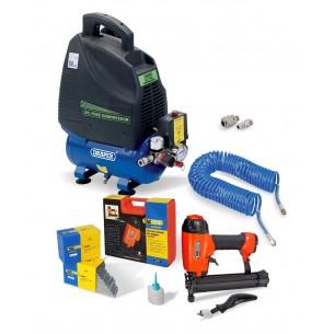Pro Woodwork Air Stapler Kit